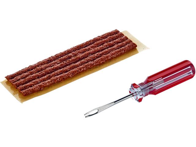 MaXalami Basic Tubeless Repair Set, brown